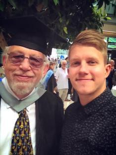 me & gerald at Graduation