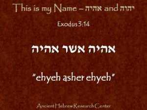 Exodus 3V14