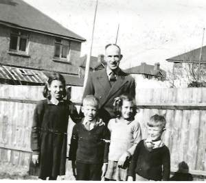 White family Meadowmead ave C1949